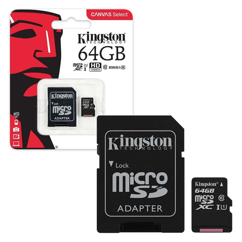 Kingston Technology 64 GB Micro SD Card Class 10 | The ...